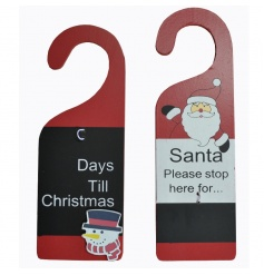 2 Assorted chalkboard door hangers, a perfect little gift for the kids