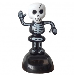 Fun and quirky dancing skeleton solar pal