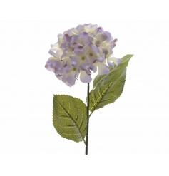 Pretty silk Hydrangea flower in a pretty lilac colour