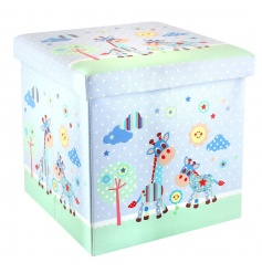 Pastel blue coloured storage box from the Little Sunshine range