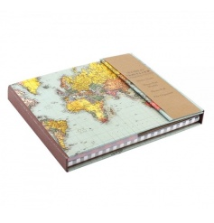 Popular weekly organiser with a new World Traveller design