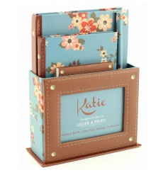 Large writing gift set from the new Katie range