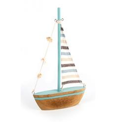 Wooden Sailboat, 29cm