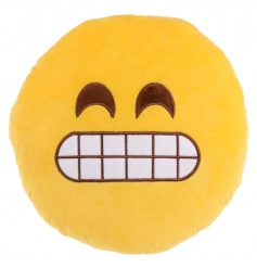 Funny grimace cushion from the new Emoji range