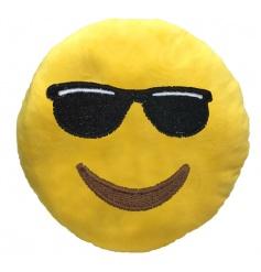 Cool sunglasses cushion from the new Emoji range
