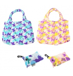 Bold and beautiful butterfly design clip bags in 2 assorted colours.
