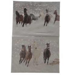 LED Horse Wall Art 40cm