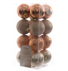 Copper Bauble Pack, Set 16