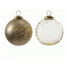 Antique Gold Bauble, 2a