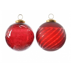 Antique Red Bauble, 2a