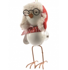 Festive Bird With Glasses