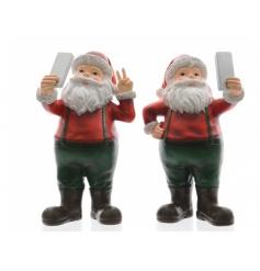 Large Selfie Santa Ornament Mix 23cm