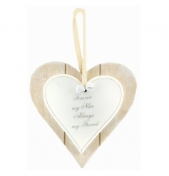 A double heart wooden plaque with popular Nan text