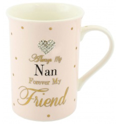 Lovely Nan mug from the Mad Dots collection
