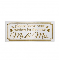 Wishes for Mr & Mrs