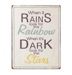 When It Rains...sign