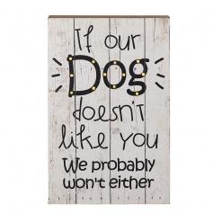 Dog LED Sign