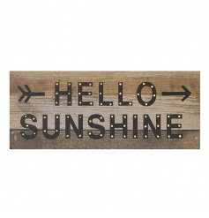 HELLO SUNSHINE LED Sign