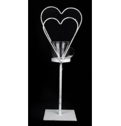 Metal Heart Candle Tea-light Holder