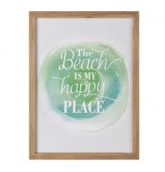 Happy Place Plaque, 35cm