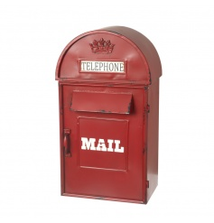 Quirky mailbox styled ornament,