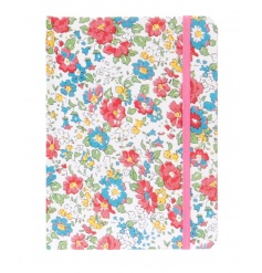 A bright and beautiful spring floral notebook.