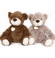 fluffy teddy doorstops, comes as a pair