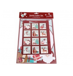 A fabulous Santa writing set with an assortment of stamps