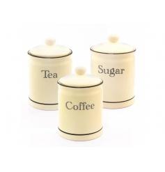 Script Tea Coffee Sugar Set