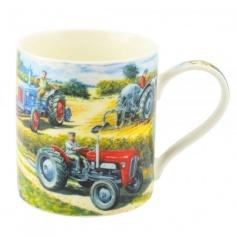 Painted China Mug with Box