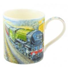 Patterned China Mug with Box