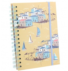 Colourful notebook from the new Sail Away collection