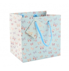 Pretty butterfly paradise gift bag in a small size