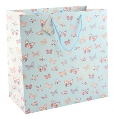 Large gift bag from the pretty Butterfly Paradise range