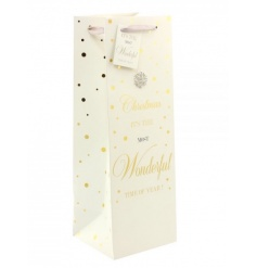 A fine quality bottle bag from the popular Mad Dots range.