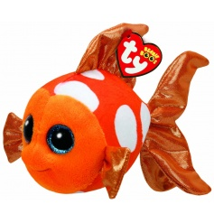 Colourful Sami fish soft toy from the TY Beanie Boo collection