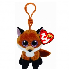 A fine quality TY Beanie Boo clip made from velvety soft fabric. Perfect for clipping onto keys, bags and prams.