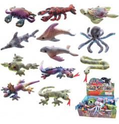An assorted box of glitter sand animals. The perfect way to spend pocket money!