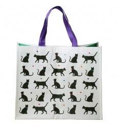 Cat Design Shopping Bag