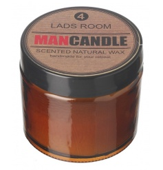 natural wax scented balm features a subtle fresh scent to clear any odours in any lads room