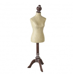 A vintage inspired mannequin jewellery holder. A stylish dressing table essential.