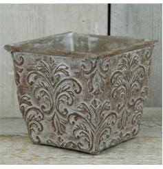 Aged Stone Effect Pot