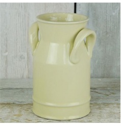 Vintage styled ceramic milk churn