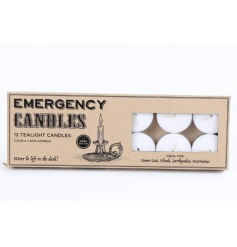 Emergency T Lights Candles