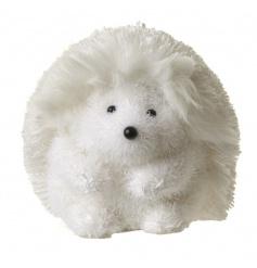 white winter hedgehog