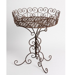 Bronze Rustic Spiral Display Stand