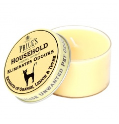Household scented candle tin from the Prices collection