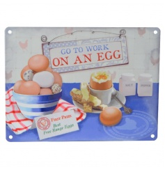 A fun vintage style sign perfect for the kitchen. A great gift for bakers and cooks.