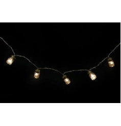 String of 10 LED lights