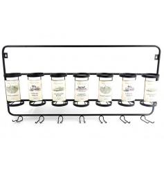 Wine Bottle & Glass Rack